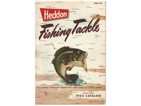 Heddon 1952 Deluxe Catalog Cover
