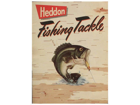 Heddon 1952 Catalog Cover