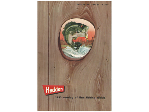 Heddon 1953 Deluxe Catalog Cover