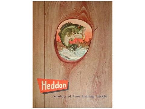 Heddon 1953 Catalog Cover