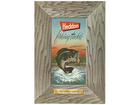 Heddon Deluxe 1954 Catalog Cover
