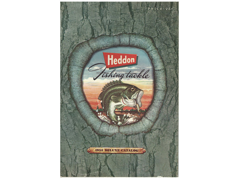 Heddon 1955 Deluxe Catalog Cover