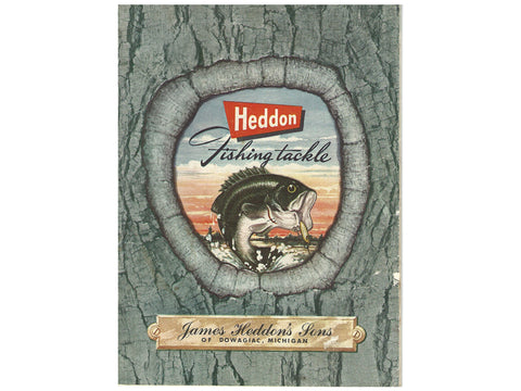 Heddon 1955 Catalog Cover