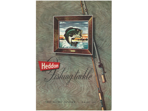Heddon 1956 Deluxe Catalog Cover