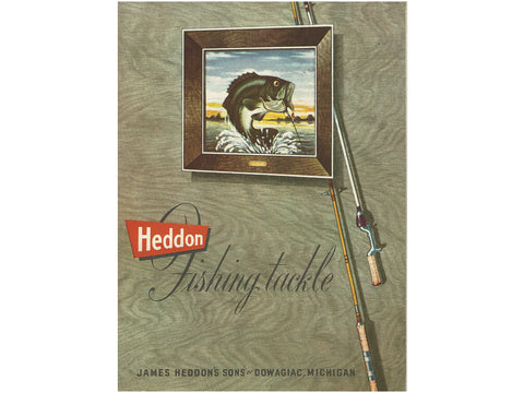 Heddon 1956 Catalog Cover