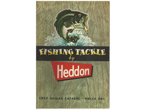 Heddon 1957 Deluxe Catalog Cover