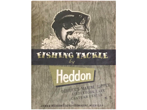 Heddon 1957 Catalog Cover