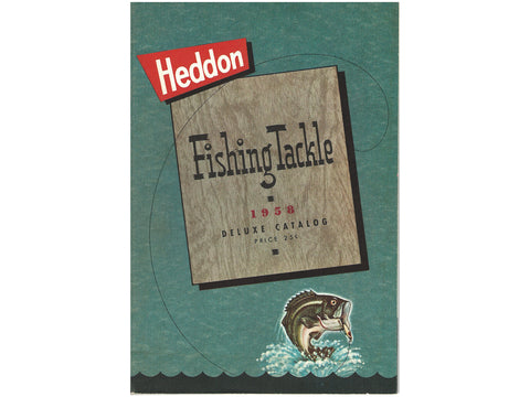 Heddon 1958 Deluxe Catalog Cover
