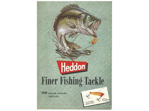 Heddon 1959 Deluxe Catalog Cover
