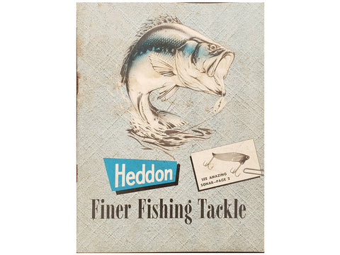 Heddon 1959 Catalog Cover