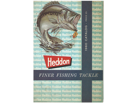 Heddon 1960 Deluxe Catalog Cover