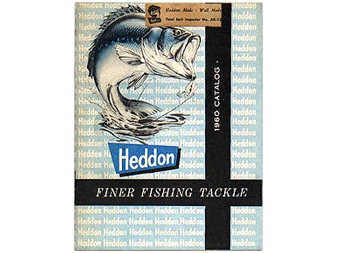 Heddon 1960 Catalog Cover
