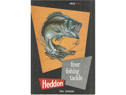 Heddon 1961 Deluxe Catalog Cover