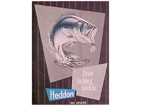 Heddon 1961 Catalog Cover