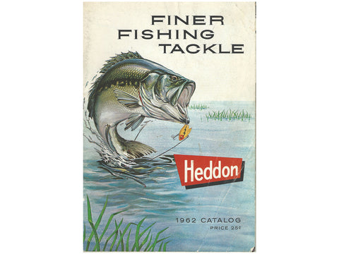 Heddon 1962 Deluxe Catalog Cover