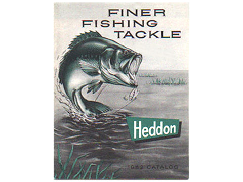 Heddon 1962 Catalog Cover