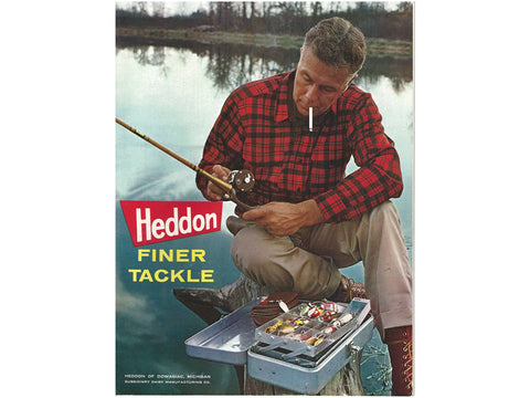 Heddon 1963 Catalog Cover