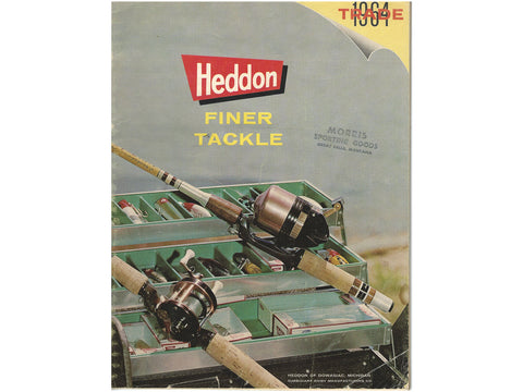 Heddon 1964 Trade Catalog Cover
