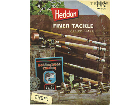 Heddon 1965 Trade Catalog Cover