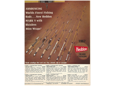 Heddon 1967 Trade Catalog Cover