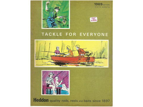 Heddon 1969 Catalog Cover