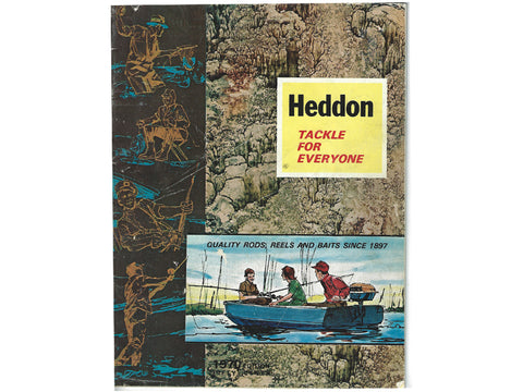 Heddon 1970 Catalog Cover