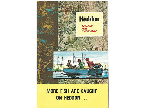 Heddon 1970 Pocket Catalog Cover