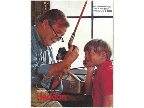 Heddon 1971 Catalog Cover