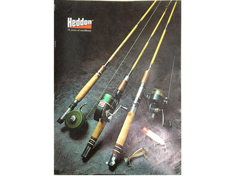 Heddon 1973 Catalog Cover