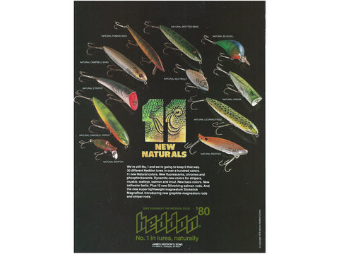 Heddon 1980 Catalog Cover