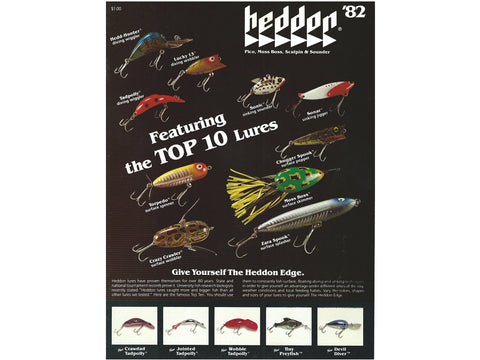 Heddon 1982 Catalog Cover