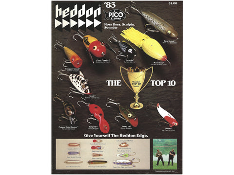 Heddon 1983 Catalog Cover