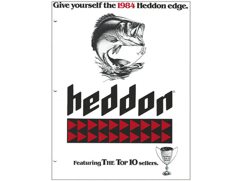 Heddon 1984 Catalog Cover