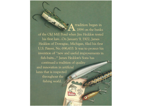 Heddon 1987 Catalog Cover