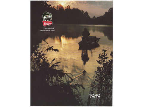 Heddon 1989 Catalog Cover