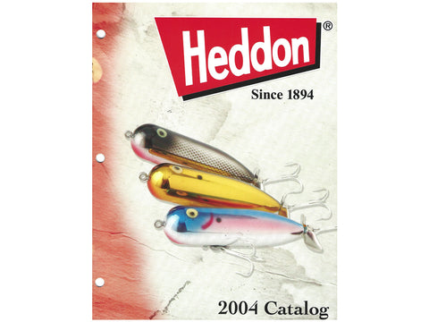Heddon 2004 Catalog Cover