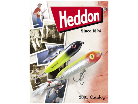 Heddon 2005 Catalog Cover
