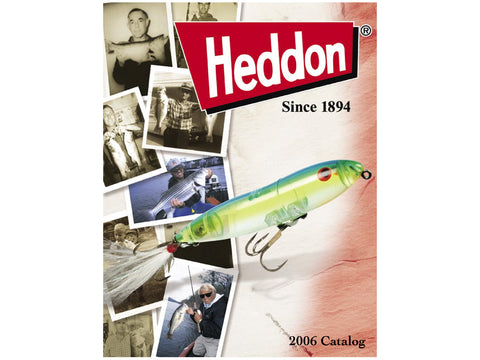 Heddon 2006 Catalog Cover
