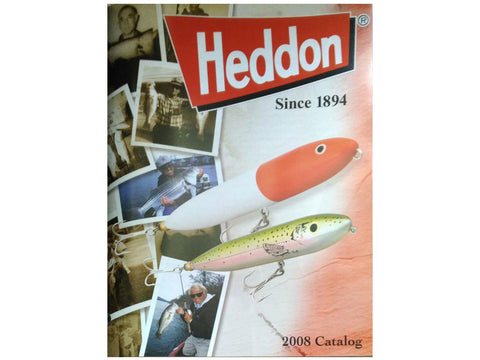 Heddon 2008 Catalog Cover