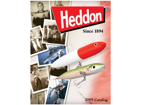 Heddon 2009 Catalog Cover