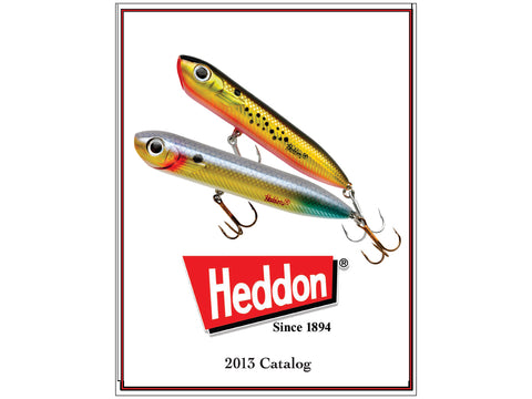 Heddon 2013 Catalog Cover