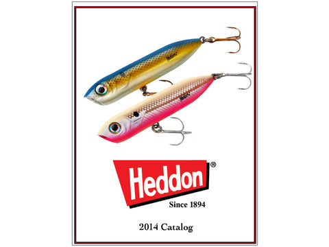 Heddon 2014 Catalog Cover