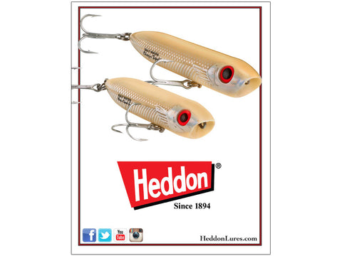 Heddon 2016 Catalog Cover