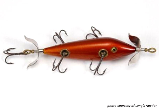 Heddon High Forehead 150 Minnow Copper Color