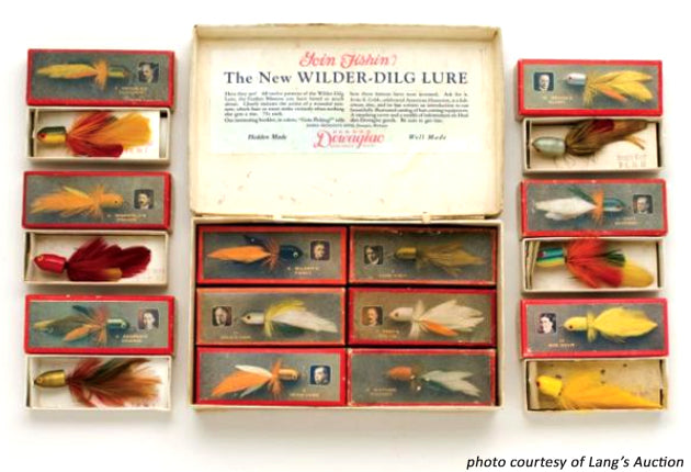 Heddon Wilder Dilg Store Display Set