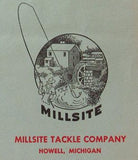 Millsite Tackle Company Logo at My Bait Shop
