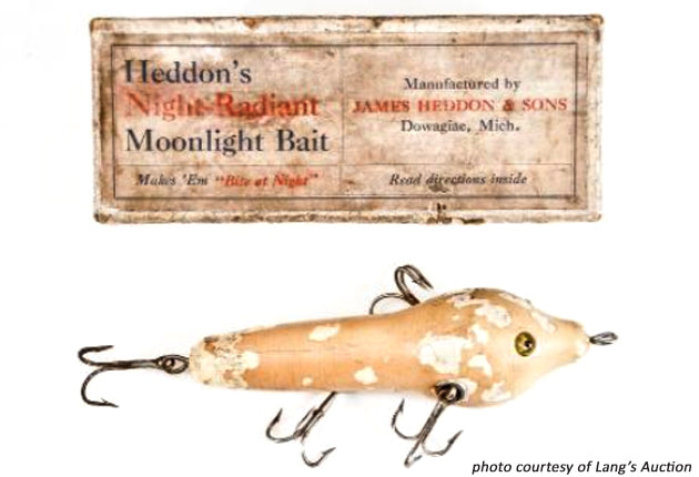 Heddon Night Radiant Moonlight Bait and Box