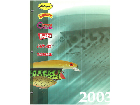 PRADCO 2003 Catalog Cover