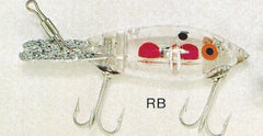 BOMBER COLOR RB:  CLEAR-RED BALL