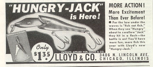Hungry Jack Lure Ad